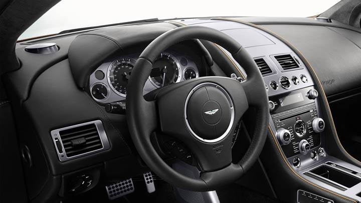Interior Of 2011 Aston Martin Virage