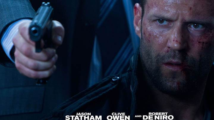 Jason Statham Face Closeup In Killer Elite