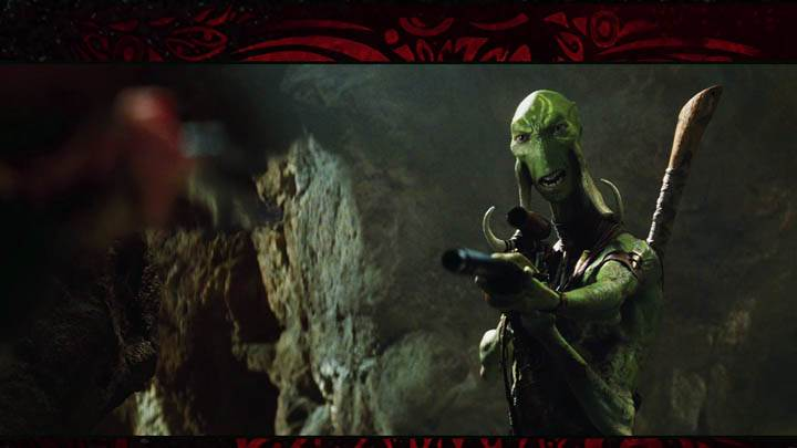 John Carter – Green Alien With A Gun