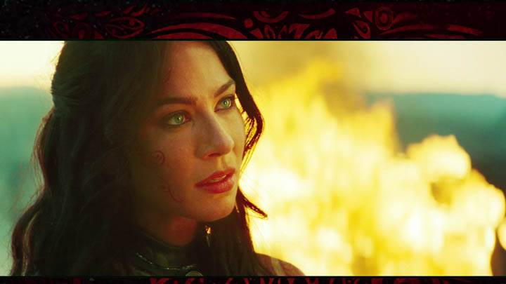 John Carter – Lynn Collins Face Closeup