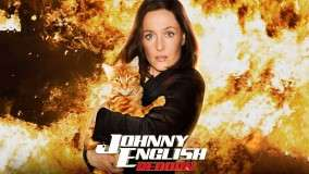Johnny English Reborn – Gillian Anderson Hugs A Sweet Catty