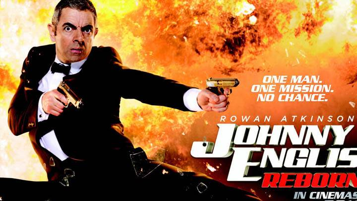 Johnny English Reborn Movie Cover Poster