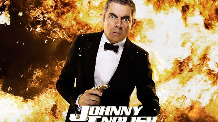 Johnny English Reborn – Rowan Atkinson Looking Front Photoshoot
