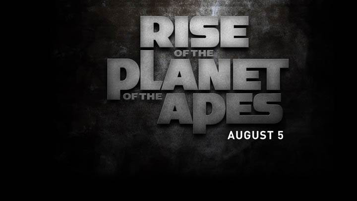 Movie Poster Of Rise Of The Planet Of The Apes