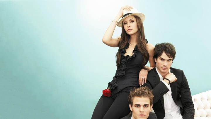 Nina Dobrev, Paul Wesley & Ian Somerhalder Photoshoot