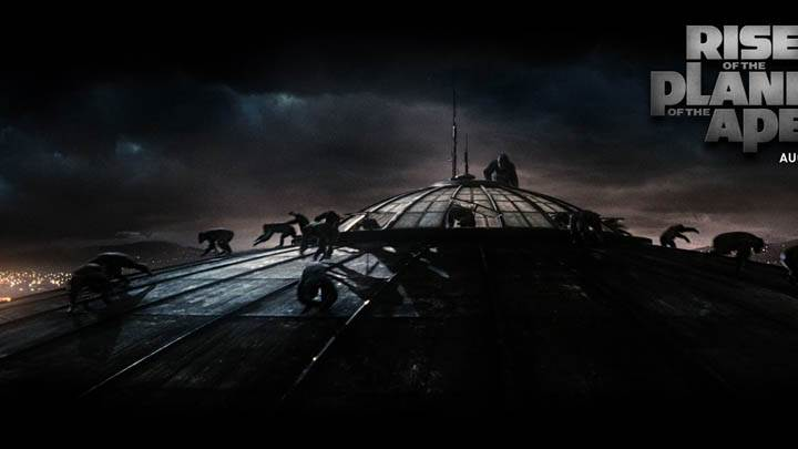 Rise Of The Planet Of The Apes – Attacking The Building