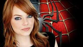 The Amazing Spider-Man – Emma Stone Cute Eyes Face Closeup