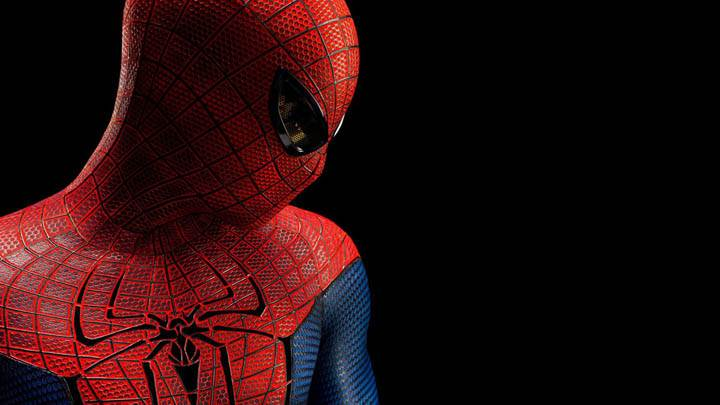 The Amazing Spider-Man – Spider Man Side Face