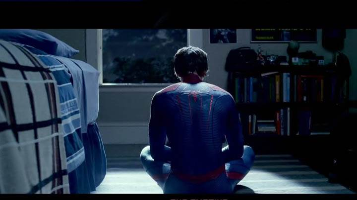 The Amazing Spider-Man – Spiderman Sitting Back Pose