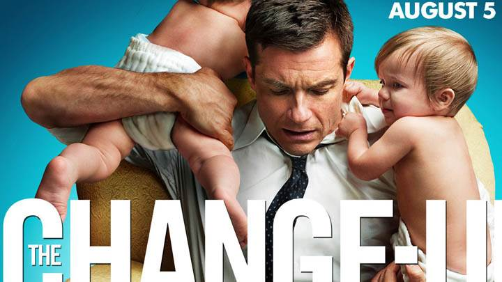 The Change-Up – Jason Bateman With Two Baby
