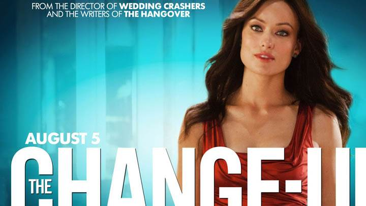 The Change-Up – Olivia Wilde In Red Dress & Lips