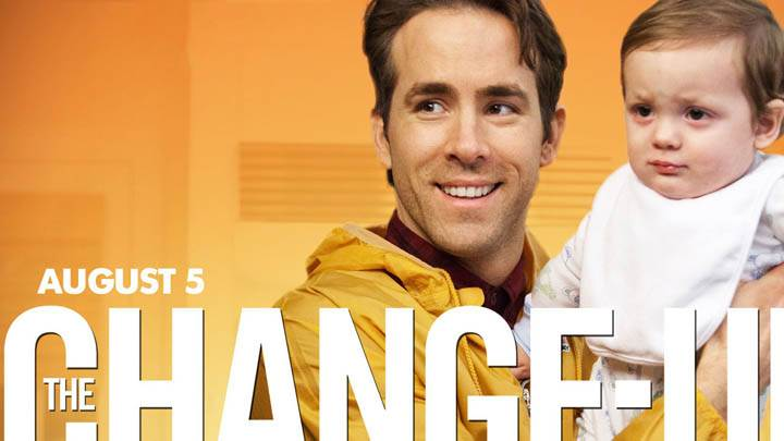 The Change-Up – Ryan Reynolds Smiling With Cute Baby