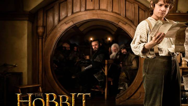 The Hobbit – An Unexpected Journey – Martin Freeman Letter In Hand