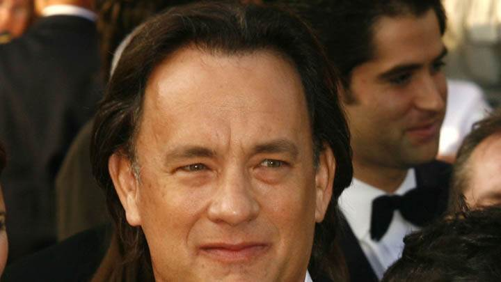 Tom Hanks Face Closeup In People