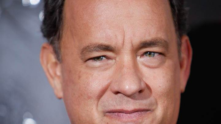 Tom Hanks Face Closeup Photoshoot