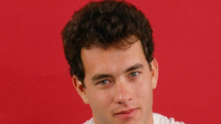 Tom Hanks Young Face Closeup