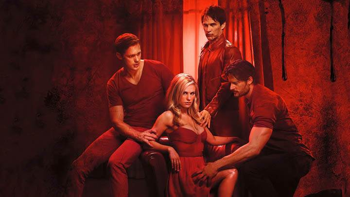 True Blood – Anna Paquin, Alexander Skarsgard, Joe Manganiello & Stephen Moyer