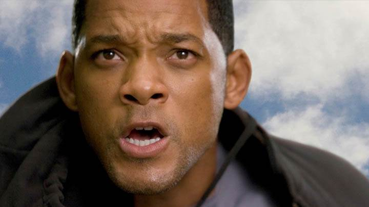 Will Smith Face Closeup In Hancock