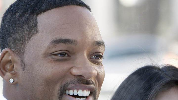 Will Smith Smiling Side Face Closeup
