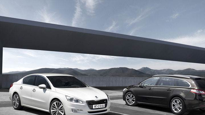 2011 Peugeot 508 Saloon And 508 SW