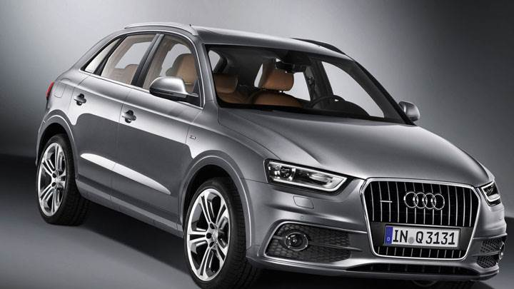 2012 Audi Q3 Quattro S Line – Front Pose in Metalic Grey
