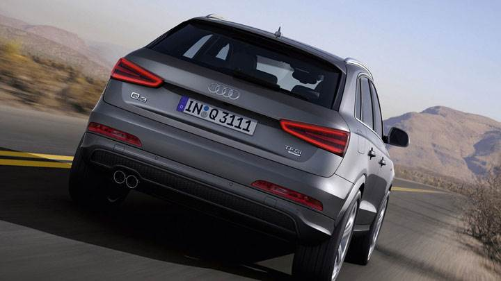 2012 Audi Q3 Quattro S Line – On Desert Highway