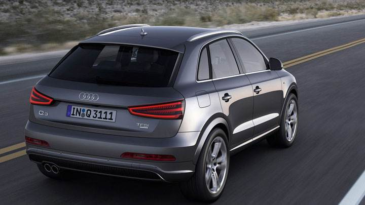 2012 Audi Q3 Quattro S Line – Running on Highway