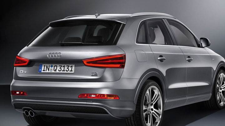 2012 Audi Q3 Quattro S Line – Silver Color Back Pose