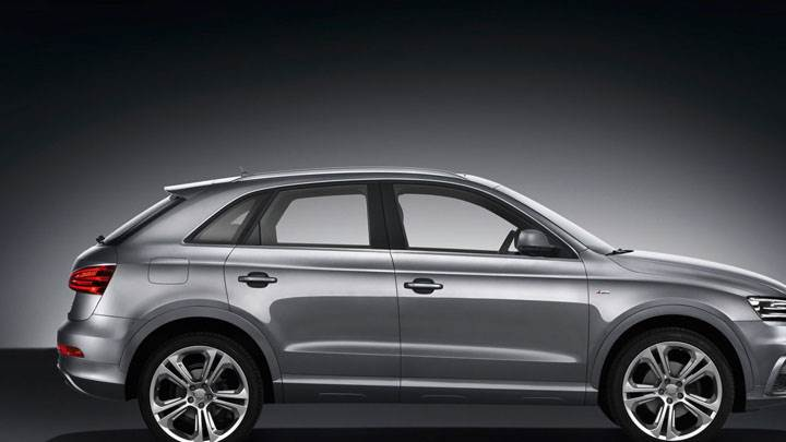 2012 Audi Q3 Quattro S Line – Silver Color Side Pose