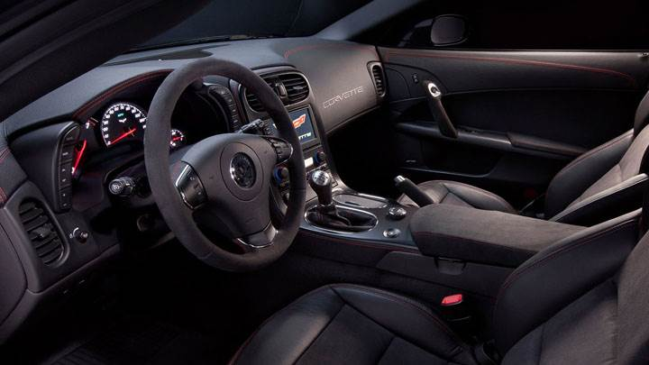 2012 Chevrolet Centennial Edition Corvette Z06 Interior