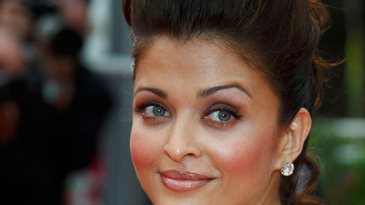 Aishwarya Rai Blue Eyes Face Closeup