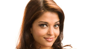 Aishwarya Rai Erotic Smile And White Background
