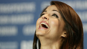 Aishwarya Rai Laughing