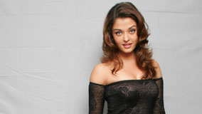 Aishwarya Rai Modeling Photoshoot In Black Dress