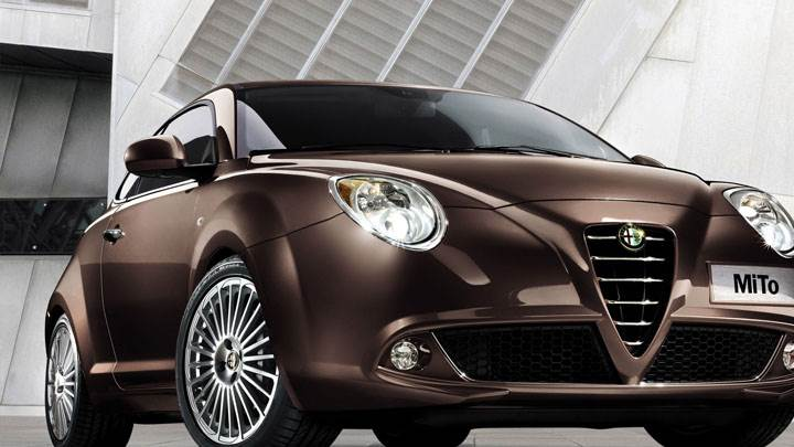 Alfa Romeo MiTo in Brown Color