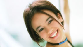 Alizee Jacotey Laughing And White Teeth