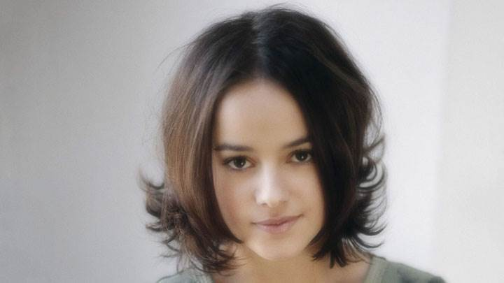 Alizee Jacotey Looking At Camera