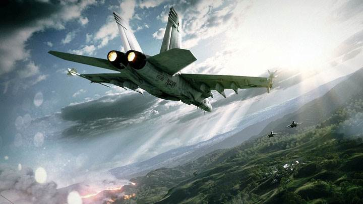 Battlefield 3 – Fighter Plane