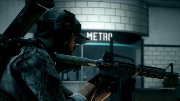 Battlefield 3 – In Metro Station