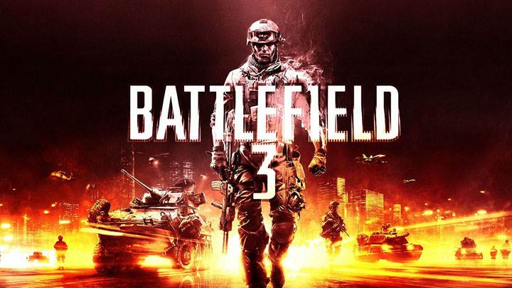 Battlefield 3 – Red Poster