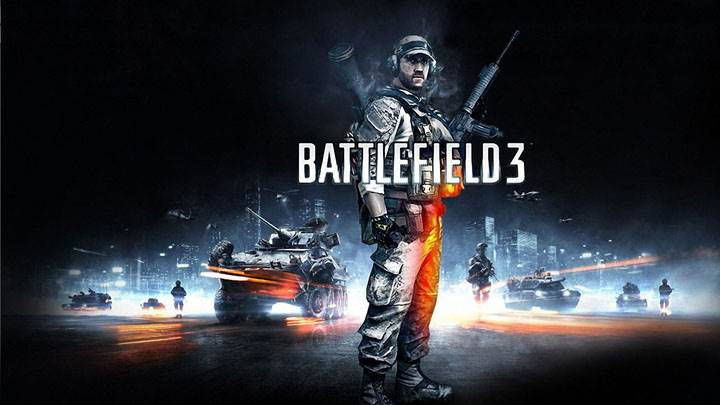 Battlefield 3 – Soldier With Guns Poster