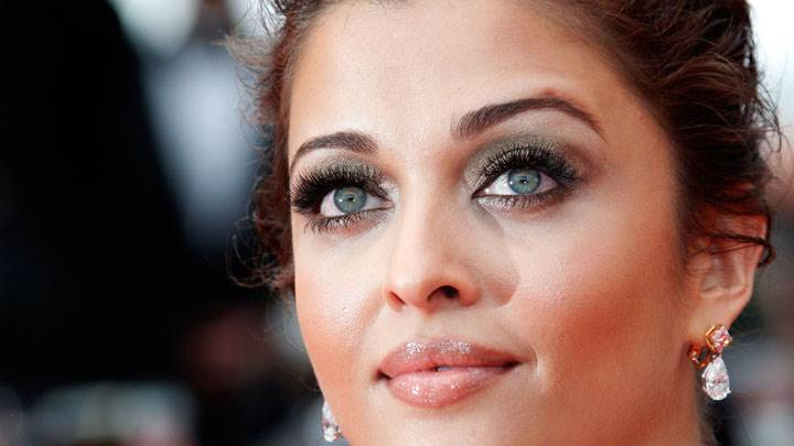 Beautiful Aishwarya Rai Face Closeup
