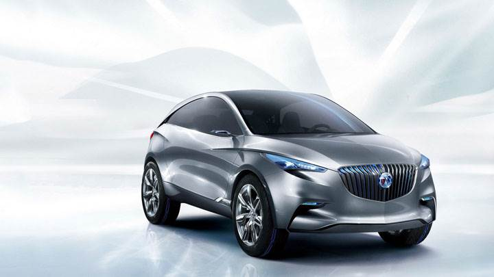 Buick Envision SUV Concept – Front Side Pose