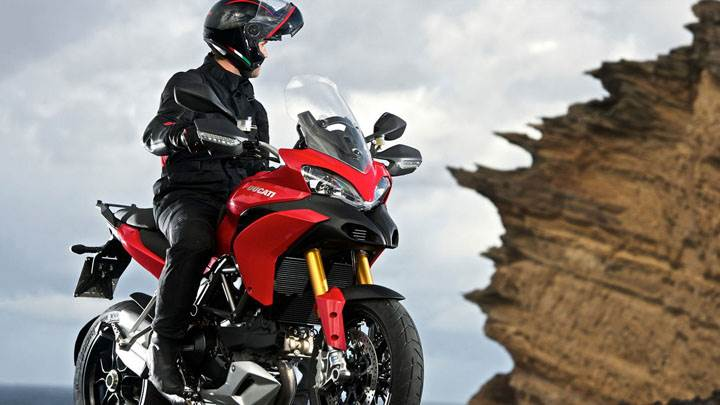 Ducati Multistrada 1200 Red Side Front