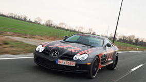 EDO Competition SLR Black Arrow On Highway