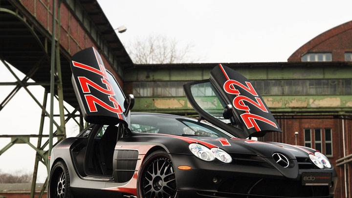 EDO Competition SLR Black Arrow Opendoors Front Picture