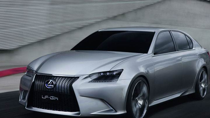 Lexus LF GH Hybrid Concept On Highway