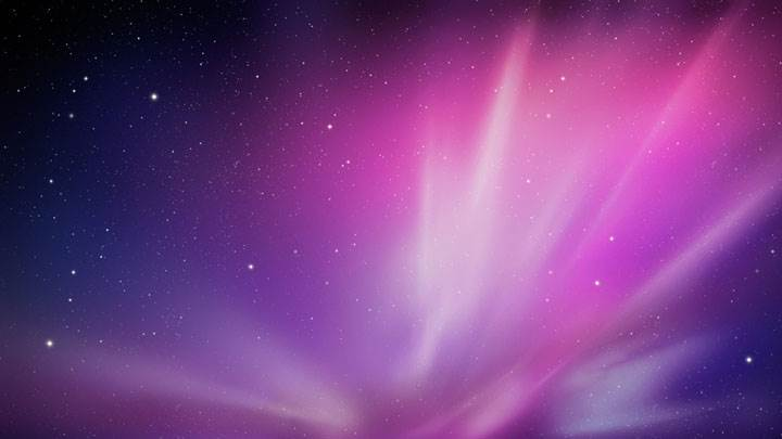 Mac Galaxy Background