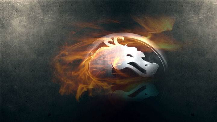 Mortal Kombat Burning Logo