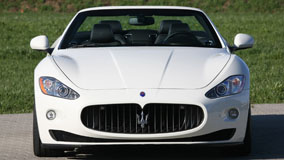 Novitec Maserati Grancabrio Front Picture In White